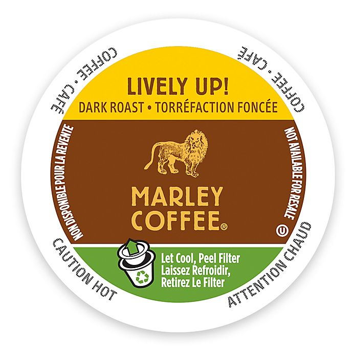 Alternate image 1 for Marley Coffee® 12-Count Lively Coffee for Single Serve Coffee Makers