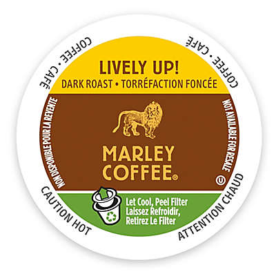 Marley Coffee® 12-Count Lively Coffee for Single Serve Coffee Makers