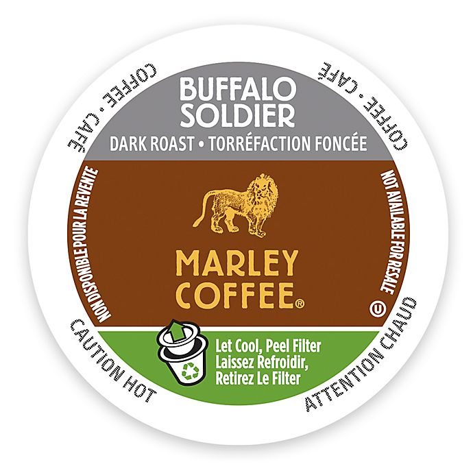 Alternate image 1 for Marley Coffee® 12-Count Buffalo Soldier Coffee for Single Serve Coffee Makers