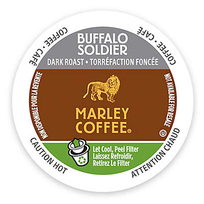 Marley Coffee® 12-Count Buffalo Soldier Coffee for Single Serve Coffee Makers