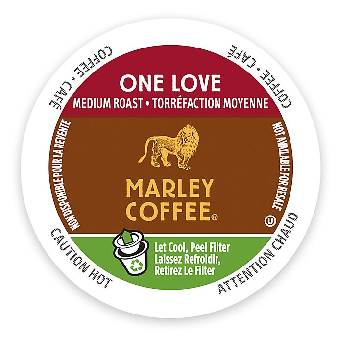 Alternate image 1 for Marley Coffee® 12-Count One Love Coffee for Single Serve Coffee Makers