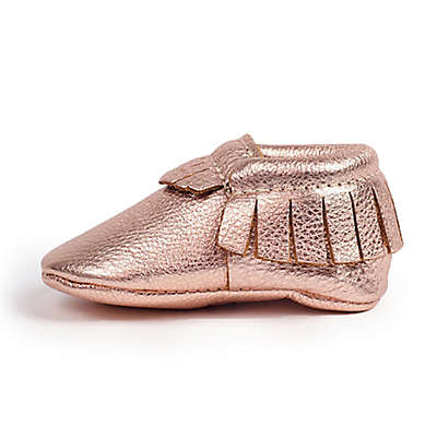 Freshly Picked Moccasin in Rose Gold
