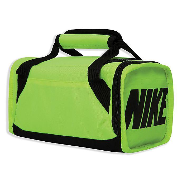 dacaaec669 Nike Brasilia Insulated Duffel Bag in Neon Green