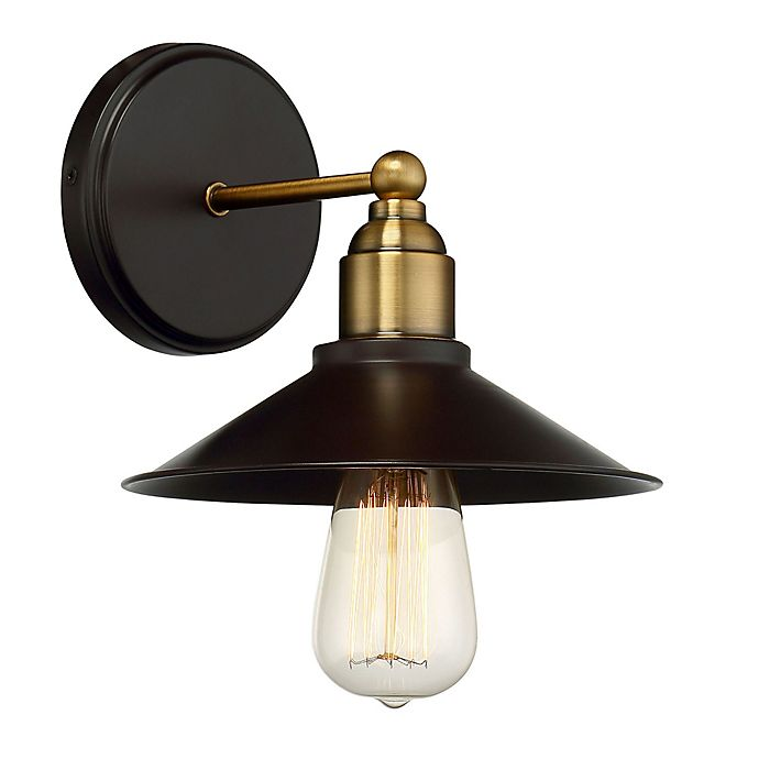 Alternate image 1 for Savoy House Piper 1-Light Wall Mount Sconce in Oil Rubbed Bronze