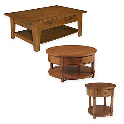 Broyhill Attic Heirlooms Table Collection in Oak