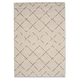 Safavieh Arizona Shag Rug in Ivory/Beige