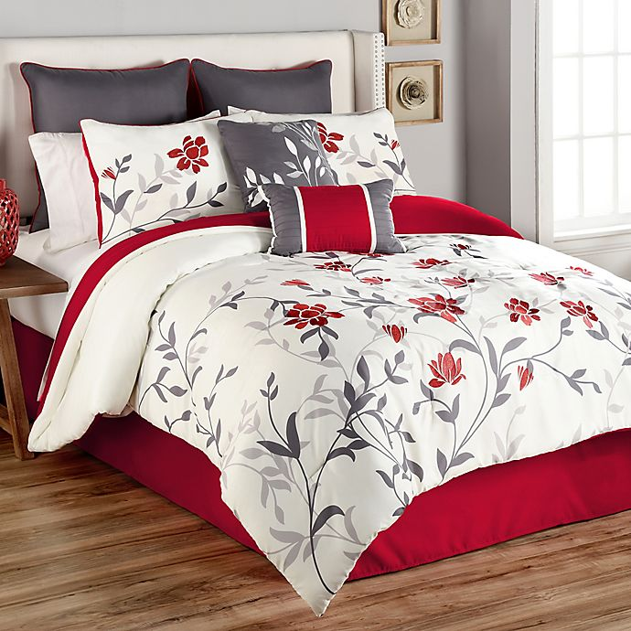 Sheila 8 Piece Comforter Set Bed Bath And Beyond Canada