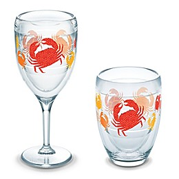 Tervis® Crab Pattern 9 oz. Wine Glasses