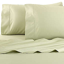 Wamsutta® Pima  500-Thread-Count Full Sheet Set in Sage