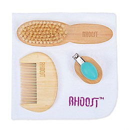 Rhoost™ 4-Piece Grooming Kit for Baby in Teal