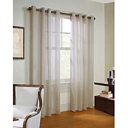 Stella Grommet Top Window Curtain Panel (Single)