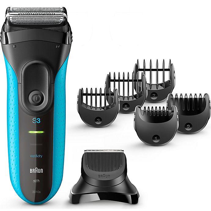 Alternate image 1 for Braun® Series 3 BT3010  Men's Shave & Style in Black