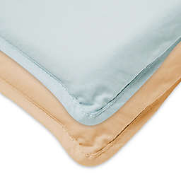 Arm's Reach® Mini Co-Sleeper® Fitted Cotton Sheet in Baby Blue