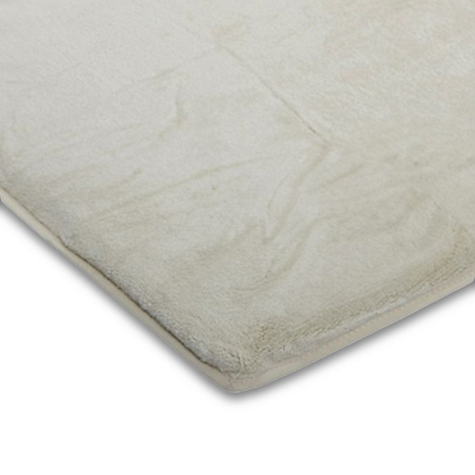 Alternate image 1 for Arm's Reach® Mini Co-Sleeper® Plush Fitted Plush Sheet in Natural