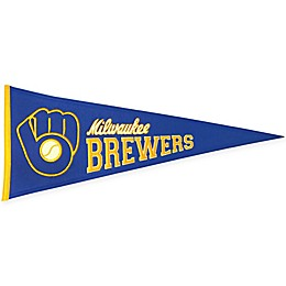 MLB Milwaukee Brewers Cooperstown Pennant