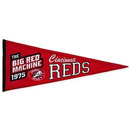 MLB Cincinnati Reds Cooperstown Pennant