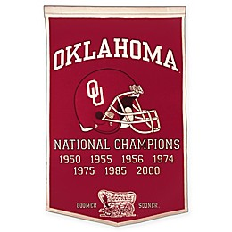 University of Oklahoma Dynasty Banner