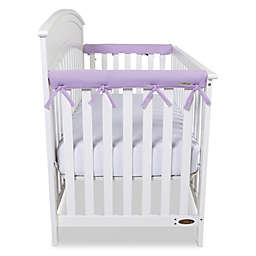 Trend Lab® Cribwrap™ 2-Pack Narrow Short Fleece Rail Covers in Lavender