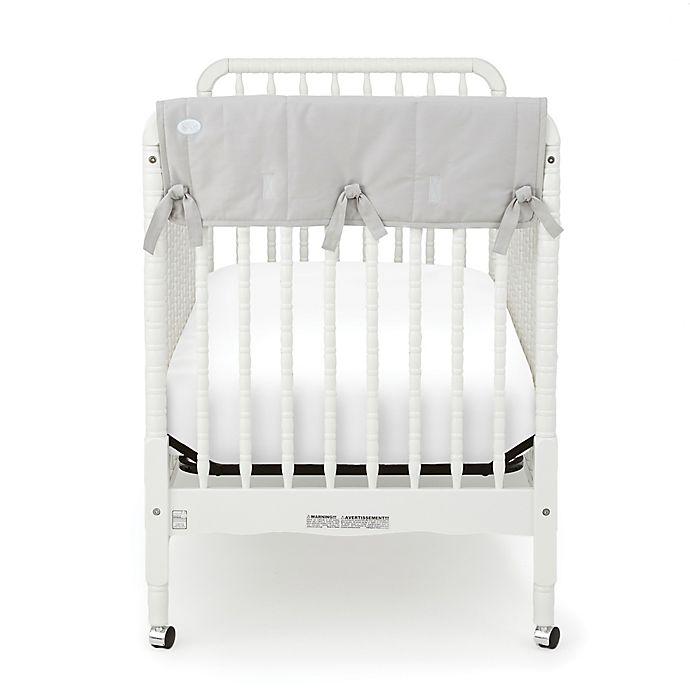 Babee Talk 174 Eco Teether 174 Organic Cotton Short Crib Rail
