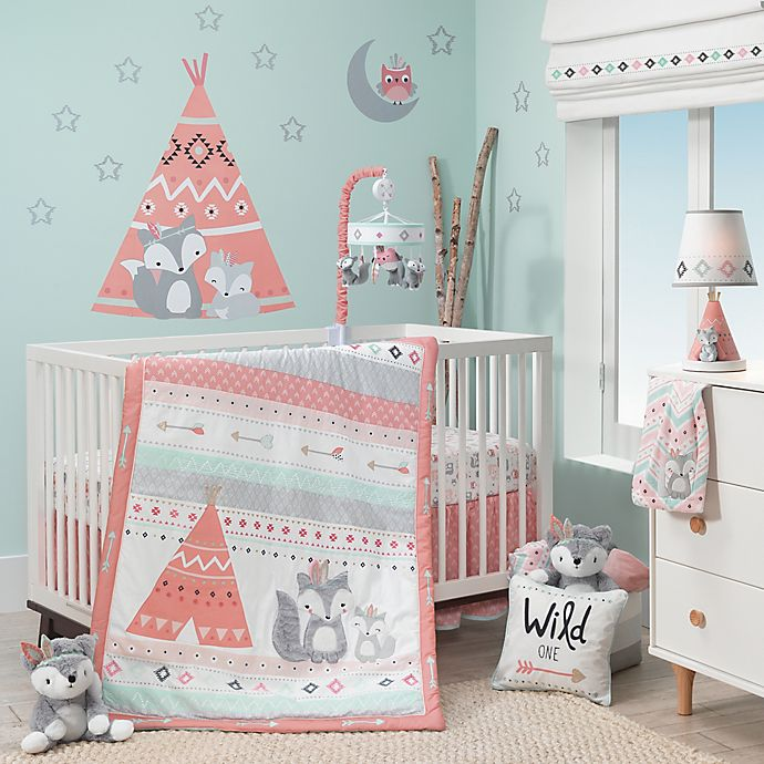 Alternate image 1 for Lambs & Ivy® Little Spirit Crib Bedding Collection