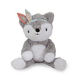 Lambs & Ivy® Little Spirit Cheyenne Fox Plush Toy in Grey