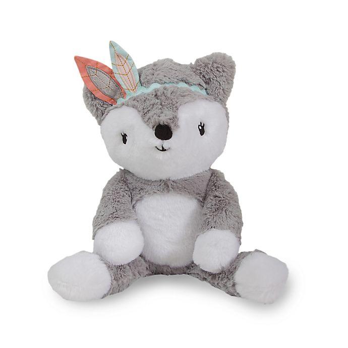 Alternate image 1 for Lambs & Ivy® Little Spirit Cheyenne Fox Plush Toy in Grey