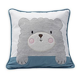 Lambs & Ivy® Happi by Dena™ Little Llama Throw Pillow in Grey/Blue