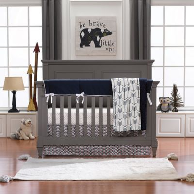 Liz And Roo Woodland Archery Crib Bedding Collection