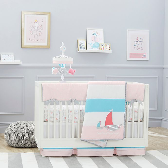 Alternate image 1 for Just Born® Sail Into Your Dreams Crib Bedding Collection
