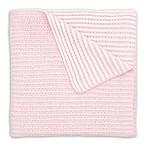 Elegant Baby® Twisted Yarn Blanket in Pink