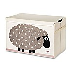 3 Sprouts Sheep Toy Chest in Beige