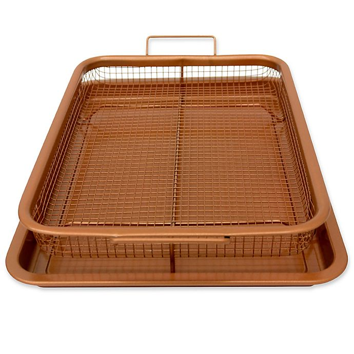Alternate image 1 for Gotham™ Steel Ti-Cerama™ Nonstick Copper Crisper Tray