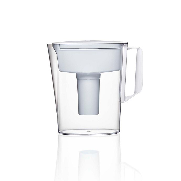 Alternate image 1 for Brita® Soho 5-Cup Water Filtration Pitcher in White