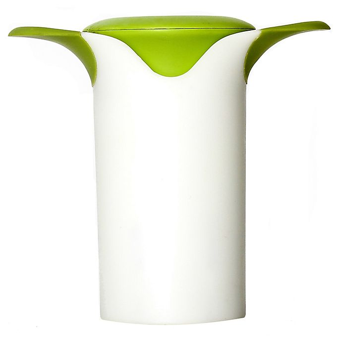 Alternate image 1 for Microplane® Veggie Wedgie in Green/White