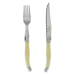 Laguiole® by French Home 8-Piece Steak Knife and Fork Set