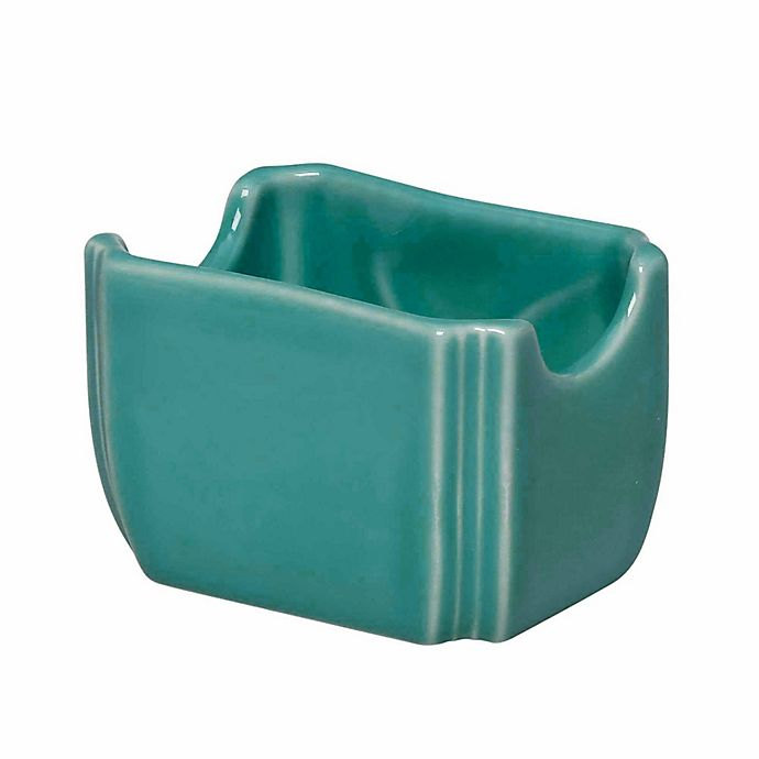Alternate image 1 for Fiesta® Sugar Packet Caddy in Turquoise