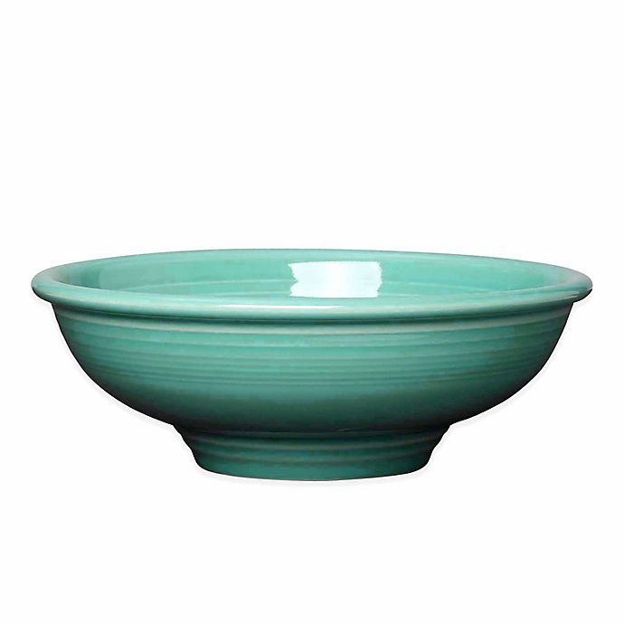Alternate image 1 for Fiesta® Pedestal Bowl in Turquoise