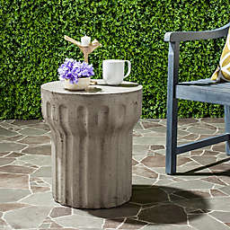 Safavieh Viesta Concrete Accent Table