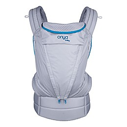 Onya Baby Pure Baby Carrier in Blue/Granite