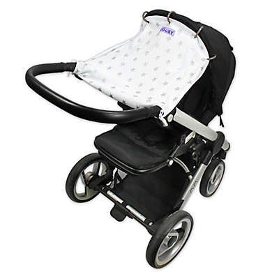 Dooky® Original Universal Stroller and Car Seat Cover in Silver Stars