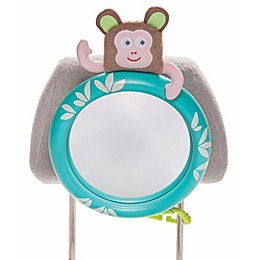 Tropical Car Monkey Mirror