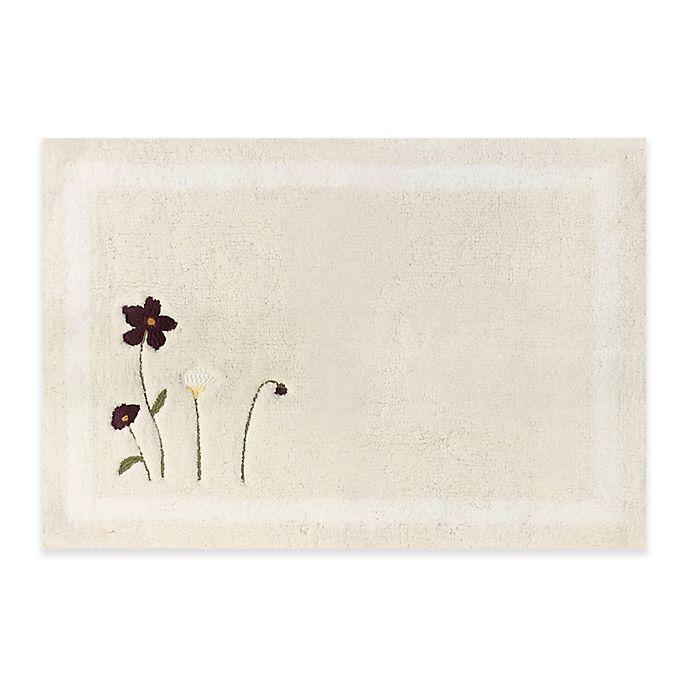 Croscill 174 Pressed Flowers Bath Rug Bed Bath Amp Beyond