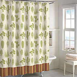 Cactus 72-Inch x 72-Inch Shower Curtain