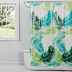 Saturday Knight Palm Shower Curtain in Green