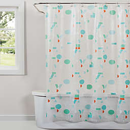 Saturday Knight Words Shower Curtain