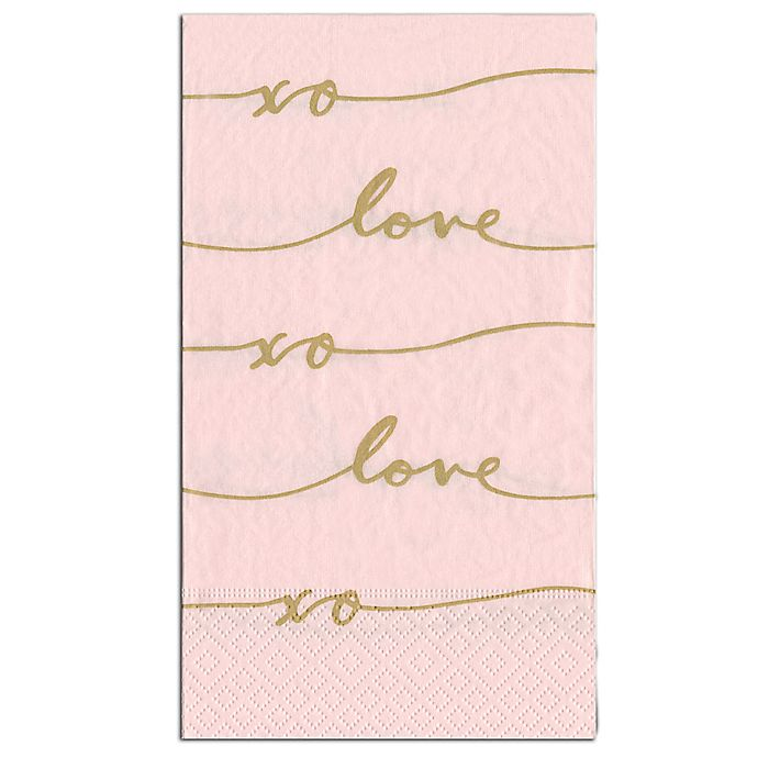 Paper Guest Towels Bathroom: Buy Love Signature 15-Count Paper Guest Towels From Bed