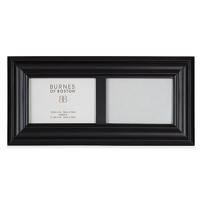 Burnes Of Boston Wood Picture Frame In Black Bed Bath Beyond