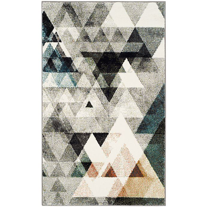 Alternate image 1 for Safavieh Porcello 2-Foot 7-Inch x 5-Foot Area Rug in Grey