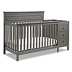 DaVinci Autumn 4-in-1 Crib & Changer Combo in Slate