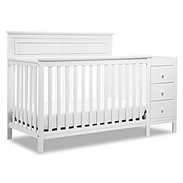 DaVinci Autumn 4-in-1 Crib & Changer Combo in White